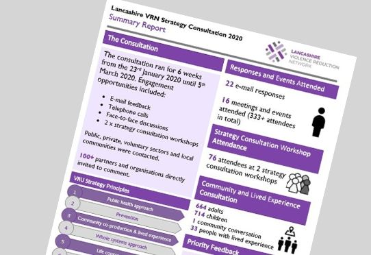 Preview of Lancs VRN Strategy Consultation report