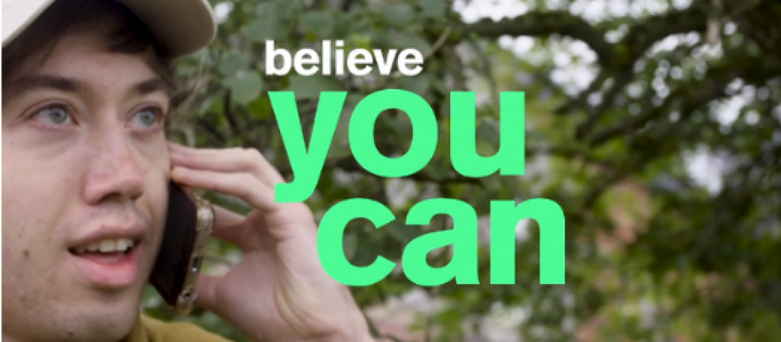Louis's Story - Believe you can campaign