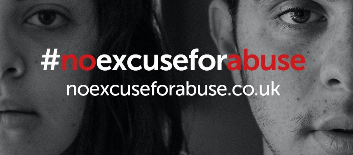 No excuse for abuse campaign image